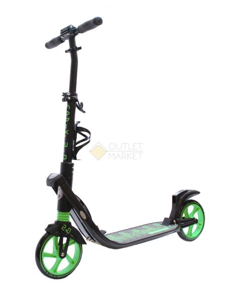 Самокат COD-X 2.0 Черно-зеленый